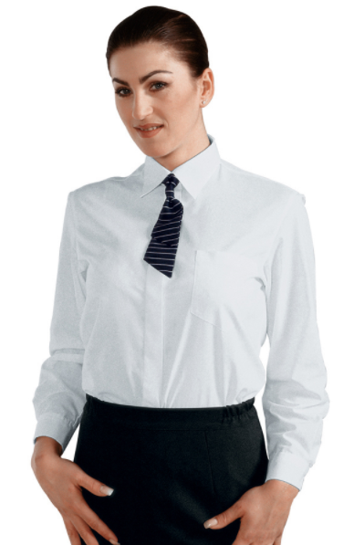 Camicia bianca donna isacco