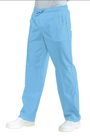 Pantalone medicale celeste