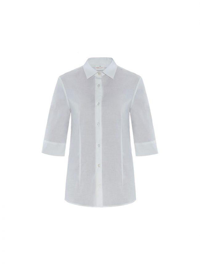 Camicia Flavia stretch bianco