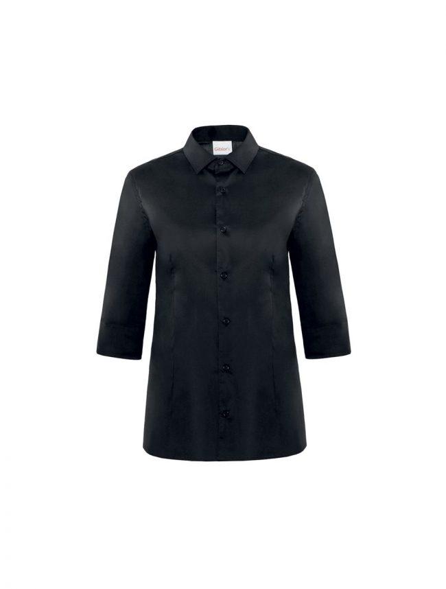 Camicia Flavia stretch nero